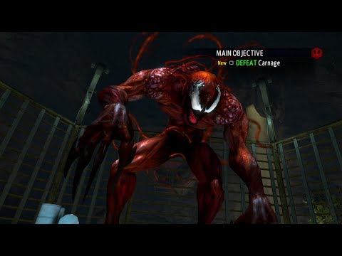 The Amazing Spider-Man 2 Game - Carnage Boss Fight