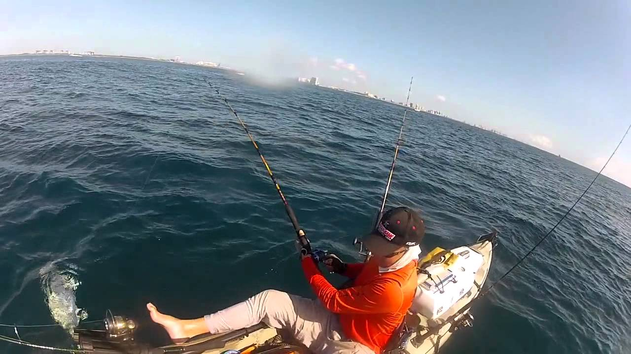 Dania offshore kayak fishing with rob r youtube for Offshore kayak fishing