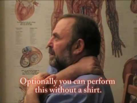 Self-Massage Neck and Upper Back Part 2