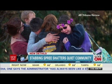 Heroic acts in Pennsylvania high school stabbing