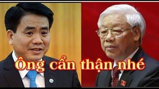 Vâng lệnh Nguyễn Tấn Dũng: Nguyễn Đức Chung công khai đối đầu Nguyễn Xuân Phúc, Nguyễn Phú Trọng