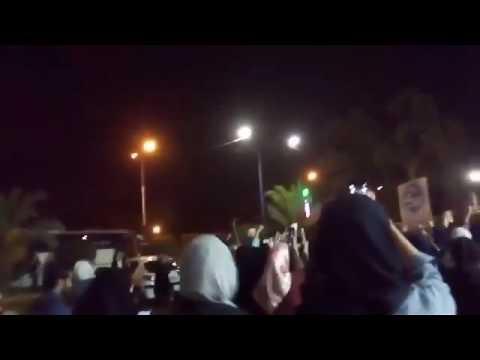 شاهد.. احتجاجات طلابية ضد تهميش الاحتلال الإيراني بالأحواز
