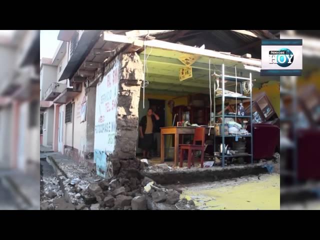 Luto y desolación se vive en San Marcos tras fuerte sismo