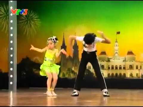 Đăng Quân - Bảo Ngọc - 2 bé nhảy Michael Jackson, Dance Sport. Vietnam's Got Talent