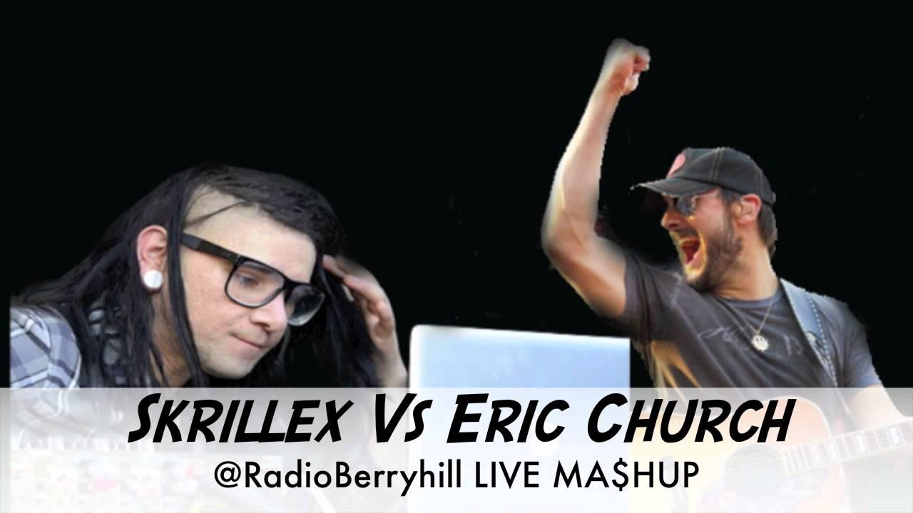 Monsters creepin quot eric church x skrillex radio b mashup youtube