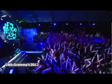 David Guetta Ft Chris Brown & Lil Wayne Performance 54th Grammy's 2012