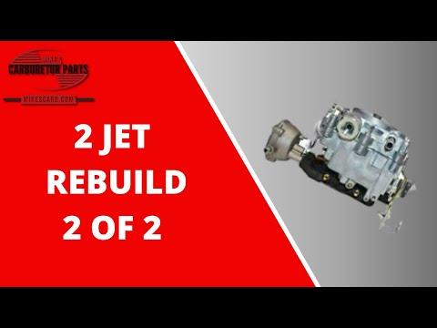 Rochester 2G 2GC Rebuild Part 2 of 2