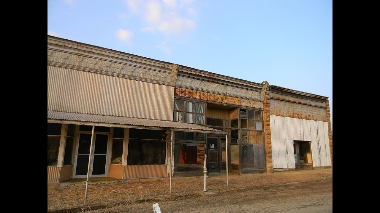 The Ghost Town Of Maramec Oklahoma Youtube