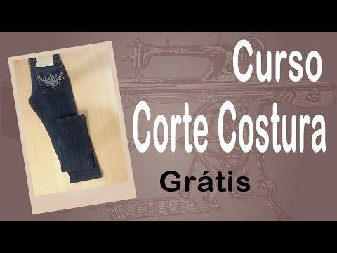 Corte e Costura passo-a-passo Barra de Calça Jeans Fácil
