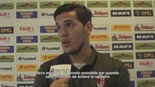 SC Freiburg-AC Milan Exclusive Milan TV: Gomez