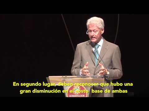 Bill Clinton on Waste to Energy in Puerto Rico