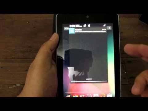 "Google Nexus 7 Unboxing - Asus-Manufactured Quad-Core 7"" Tablet For $199 (Est. PHP 8,500)"