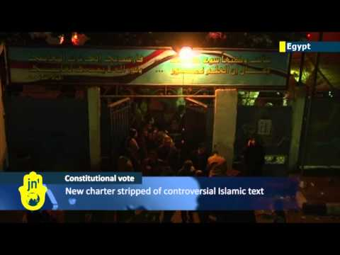 Constitutional referendum: Deadly clashes across Egypt amid first day of voting