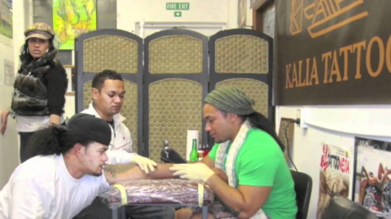 polynesian tattoos kalia tattoo auckland nz youtube