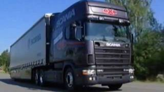 Birth Of Scania 4 Series (original Video Factory & Road
