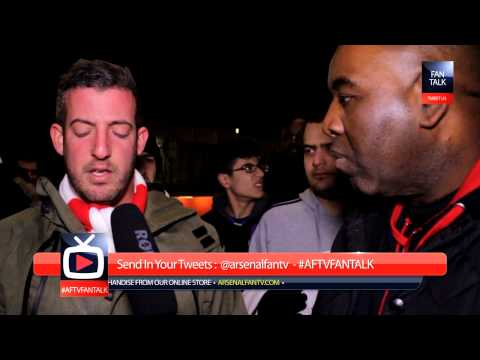 Arsenal 2 Tottenham Hotspurs 0 - Tim Sherwood Is An Arsenal Fan - ArsenalFanTV.com