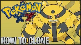 Pokemon X/Y How To Clone Multiple Pkmn W/ Powersave