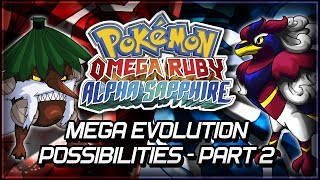 Pokémon Omega Ruby And Alpha Sapphire Mega Evolution