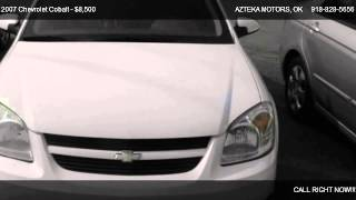 2007 Chevrolet Cobalt LT - for sale in TULSA, OK 74112 videos
