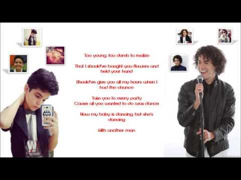 When I Was Your Man | Sam Alves e Natan Magalhães (Lyrics)