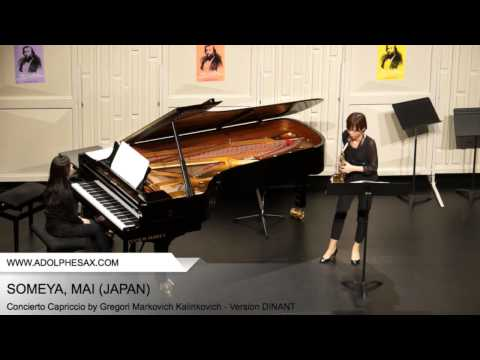 Dinant 2014 – SOMEYA Mai (Concierto Capriccio by Gregori Markovich Kalinkovich – Version DINANT)