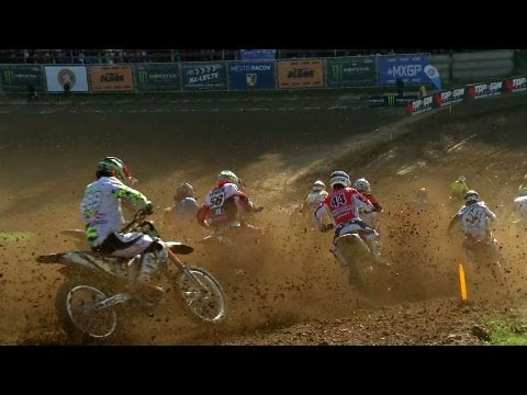 MX3 NEWS Highllights - Round of Czech Rep - PACOV 2013 - Motocross