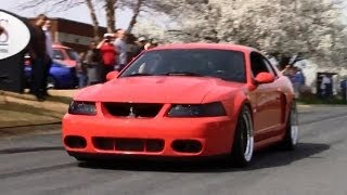 SVT Cobra Club And Pro-Dyno Cruise-In, Leaving Show HD