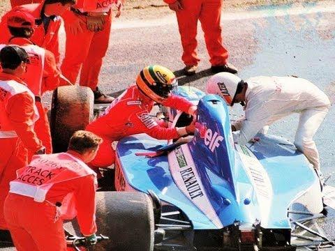 Ayrton Senna Salva Vida de Piloto F1 1992