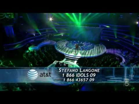 American Idol 10 - Stefano Langone [Just The Way You Are] - Top 12 Guys Perform