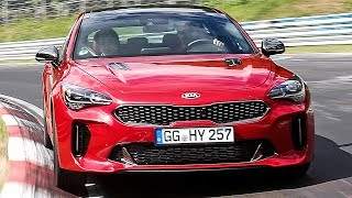 Kia Stinger (2018) Test and Development [YOUCAR]. YouCar Car Reviews.