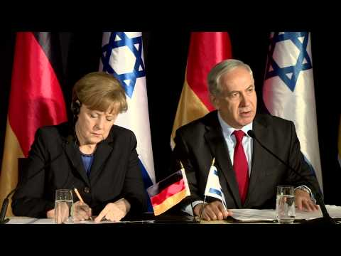 Press Conference : PM Netanyahu & German Chancellor Merkel's at G2G Meeting