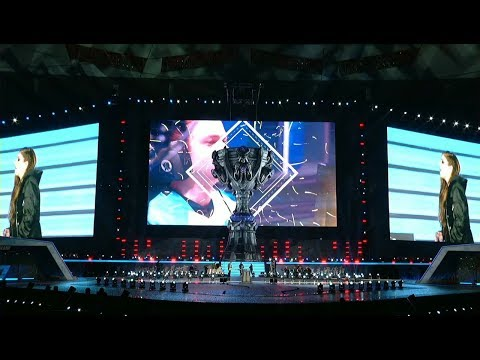 Closing Award Ceremony of S7 LoL Worlds 2017 Live music + on stage interview win the winners!