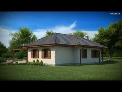 Projekty Z500 - projekt domu Z6