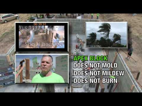 Build it smarter with apex block insulated concrete for Apex block homes