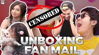 OUR DIRTIEST UNBOXING EVER   OFFLINETV FAN MAIL UNBOXING ft. TOAST, POKI, LILYPICHU, SCARRA, FED