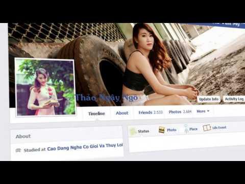 Chuyện Tình Trên facebook