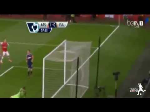 image video les buts Arsenal 2 0 Fulham