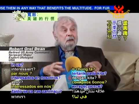 Bob Dean on the truth about Extraterrestrials Part 1/3  SupremeMasterTV Multi-Subtitels