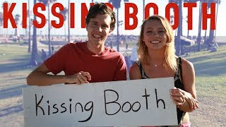 KISSING BOOTH COMPETITION | Boy vs. Girl