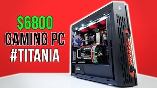 $6800 Ultimate Gaming PC | Time Lapse Build