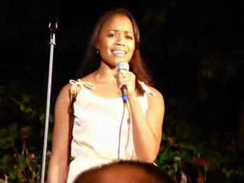 Nikki Renee Daniels performs Home at Upright Cabaret in LA