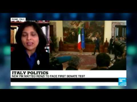 Italy: New PM Renzi to face first senate test