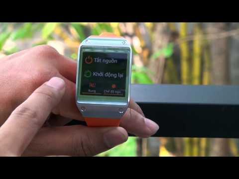 Các thao tác cơ bản trên Samsung Galaxy Gear