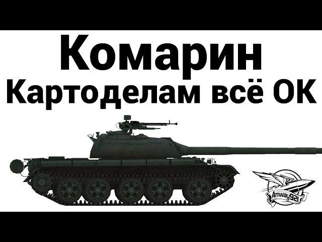 Обзор карты Комарин от Amway921WOT в World of Tanks (0.8.11)