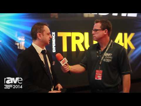 ISE 2014: James Belso Welcomes rAVe to the Christie Stand