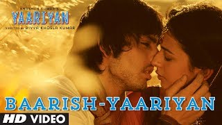Baarish Yaariyan Full Song (Official) | Himansh Kohli, Rakul Preet | Movie Releasing: 10 Jan 2014