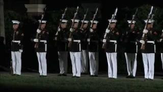 United States Marine Corps Silent Drill Platoon (SDP