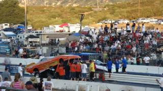 Funny Car Ate A Guy