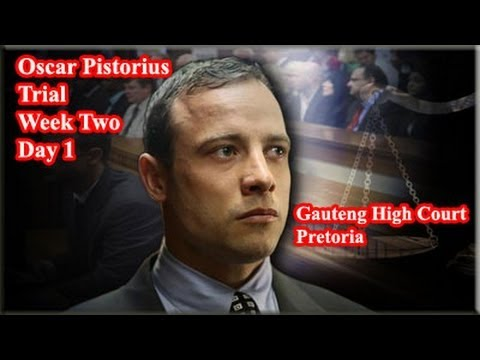 Oscar Pistorius Trial: Monday 10 March 2014, Session 1