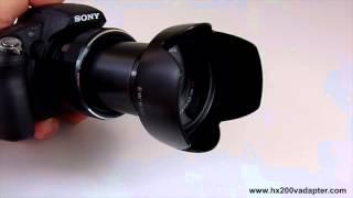 SONY HX200V DSC-HX200V Filter Adapter Ring